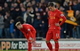 Vòng 24 Ngoại hạng Anh: Thất bại trước Hull City, Liverpool có nguy cơ văng khỏi top 4