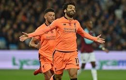 Kết quả bóng đá sáng 05/11: Liverpool thắng tưng bừng, Alcacer giúp Barca có 3 điểm