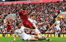 Kết quả bóng đá rạng sáng 17/9: Liverpool chia điểm, Barcelona ngược dòng giành chiến thắng