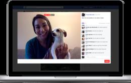 Facebook cho phép live stream từ máy tính
