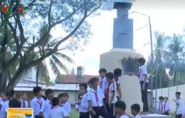 Học sinh lớp 9 chế tạo hệ thống lò đốt rác thải tại trường học