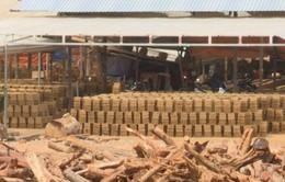 Loay hoay xóa bỏ lò gạch thủ công tại Khánh Hòa