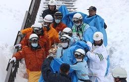 Lở tuyết tại Nhật Bản, hơn 30 người thương vong