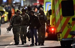 Bắt 12 đối tượng liên quan tới vụ khủng bố ở Anh
