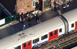 Xác định một nghi can vụ nổ tàu điện ngầm ở Anh