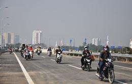 Xe máy được chạy một đoạn trên cao tốc Long Thành - Dầu Giây