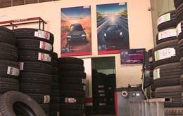 Cận cảnh chiêu thức tân trang lốp ô tô cũ