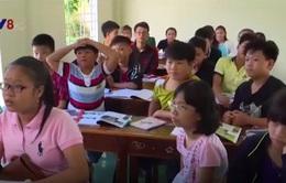 Lớp học tiếng Anh miễn phí cho trẻ em nông thôn tại Khánh Hòa