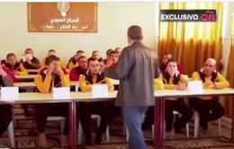 Lớp học cho những em nhỏ từng lầm lỡ tham gia IS