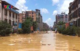 Lũ lụt nghiêm trọng ở Trung Quốc, ít nhất 33 người thiệt mạng