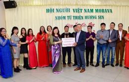 Người Việt tại Morava - CH Czech hướng về miền Trung