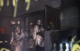 Đà Nẵng: Cây xăng bốc cháy dữ dội lúc nửa đêm