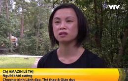 Nữ lực sĩ gốc Việt với tấm lòng vì quê hương