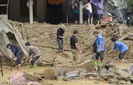 Khắc phục hậu quả lũ quét tại Mù Cang Chải, Yên Bái