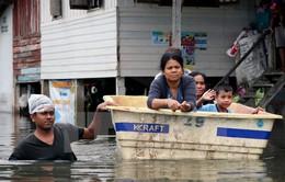 Lũ lụt ảnh hưởng đến 1 triệu người ở Thái Lan