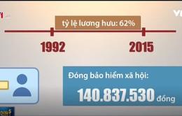 Lý giải trường hợp nhận lương hưu hơn 101 triệu đồng/tháng