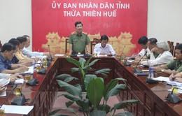 Kiểm tra công tác an toàn giao thông tỉnh Thừa Thiên-Huế