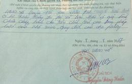 Hà Nội: Kỷ luật cán bộ bút phê phản cảm trong sơ yếu lý lịch