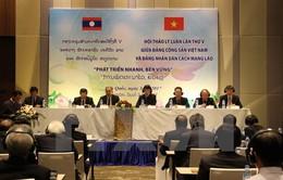 Bế mạc Hội thảo lý luận Việt Nam - Lào