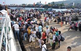 Khoảng 2.500 lượt khách đến Lý Sơn trong ngày đầu tiên nghỉ lễ Quốc khánh 2/9