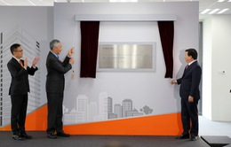 Lãnh đạo Chính phủ và Thủ tướng Singapore khai trương Trung tâm doanh nghiệp tại TP.HCM