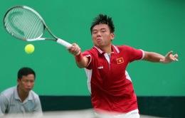 SEA Games 29: Thua bất ngờ đối thủ Thái Lan, Lý Hoàng Nam giành HCĐ đơn nam