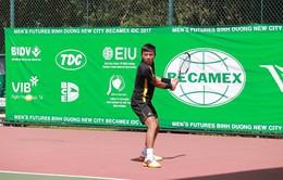 Lý Hoàng Nam thẳng tiến vào tứ kết giải quần vợt Vietnam F3 Futures