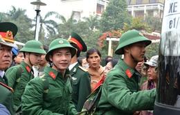 Thanh niên Thừa Thiên - Huế hăng hái lên đường nhập ngũ