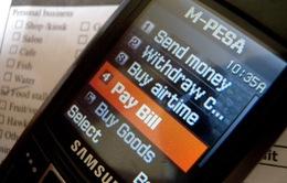 Dịch vụ M-Pesa - Tài khoản điện thoại cũng là ngân hàng