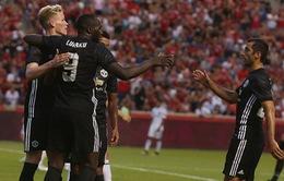 Lukaku ghi bàn, Manchester United ngược dòng thắng Real Salt Lake