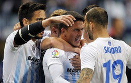 Vòng 35 giải VĐQG Tây Ban Nha: Sevilla bất ngờ thất bại trước Malaga