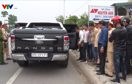 Quảng Bình: Chặn bắt xe ô tô chở súng và ma túy