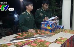 Quảng Trị bắt giữ vận chuyển pháo lậu từ Lào về Việt Nam