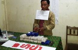 Bắt đối tượng người Lào dùng xe máy vận chuyển 30.000 viên ma túy