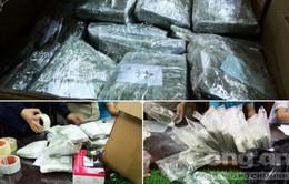 Hòa Bình: Bắt 2 vụ vận chuyển 130 bánh heroin