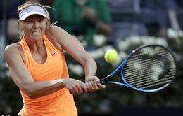 Vòng 2 Roma Mở rộng 2017: Sharapova bất ngờ dừng bước