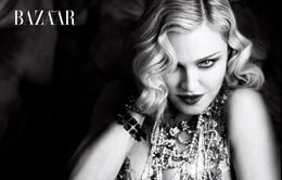 Madonna dữ dội trên Harper's Bazaar