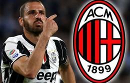 """Chê """"tiền tấn"""" từ Chelsea, Juventus bất ngờ để Bonucci về AC Milan"""