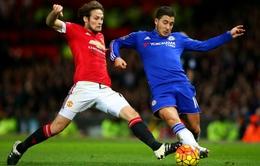 Chelsea bất bại trước Man Utd suốt 4,5 năm