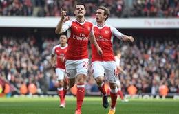 """Arsenal chọn xong người thay thế """"tội đồ"""" Granit Xhaka"""