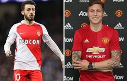 Tân binh Man City, Man Utd và Bayern dẫn đầu Top 10 bom tấn chuyển nhượng tháng 6
