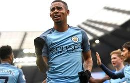 Man City đón tin cực vui từ Gabriel Jesus