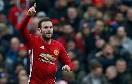 Manchester United đón thông tin khả quan từ Juan Mata