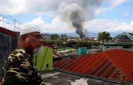 Philippines dùng trực thăng nã rocket vào phiến quân