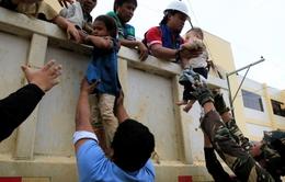 Hàng trăm người dân bị mắc kẹt ở thành phố Marawi