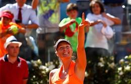 Vòng 1 Rome mở rộng 2017: Maria Sharapova ra quân thành công