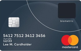 Thẻ tín dụng sử dụng dấu vân tay