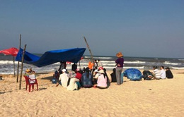 Một thanh niên mất tích khi đi tắm biển tại Thừa Thiên-Huế