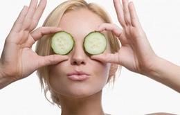 Giải pháp tự nhiên trị chứng khô mắt