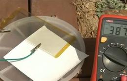 Phát triển thành công pin mặt trời trong suốt có hiệu suất cao